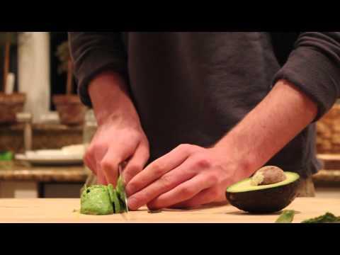 ASMR [Un] Chopping Avocado
