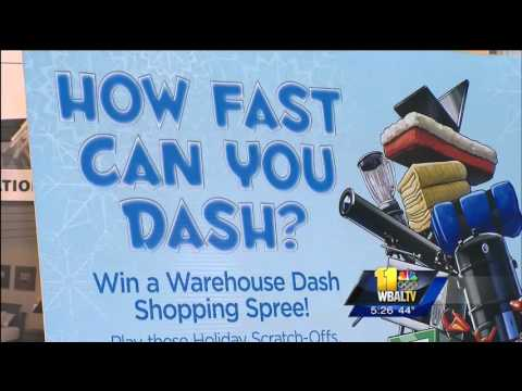 Lottery Warehouse Dash