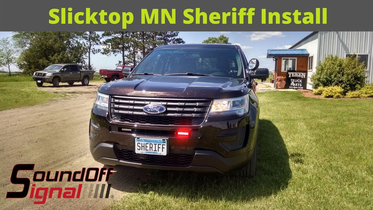 2017 ford utility unmarked police package installation hd video youtube