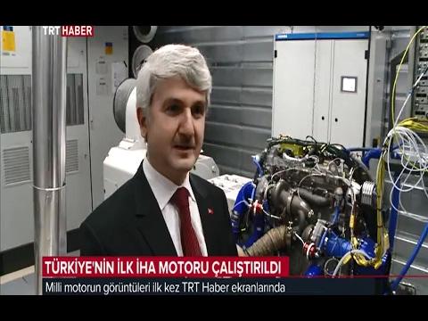 TEI, Türkiye'nin İlk Milli İHA Motorunun Yer Testlerine Başladı