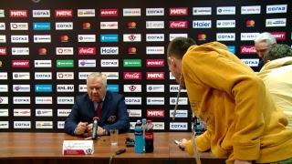 """Пресс-конференция """"Автомобилист"""" - """"Ак Барс"""""""