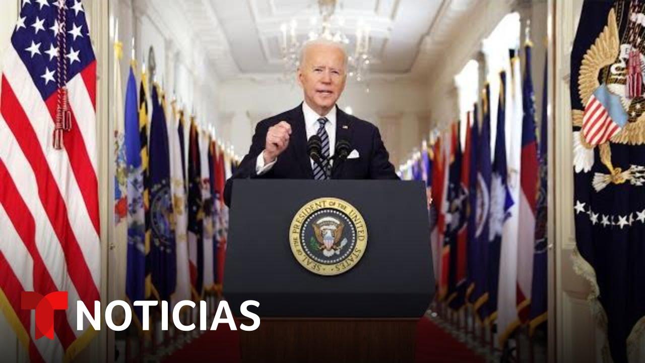 Biden a la nacin: 'Estados Unidos est surgiendo de nuevo'