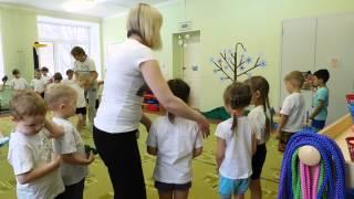 Физкультурное занятие в старшей группе
