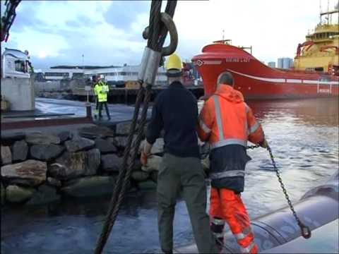 URANUS - Bollard Pull Test in Norway & Christening in Cuxhaven