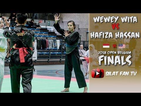 WEWEY VS HAFIZA | PENCAK SILAT OPEN BELGIUM FINALS 2018