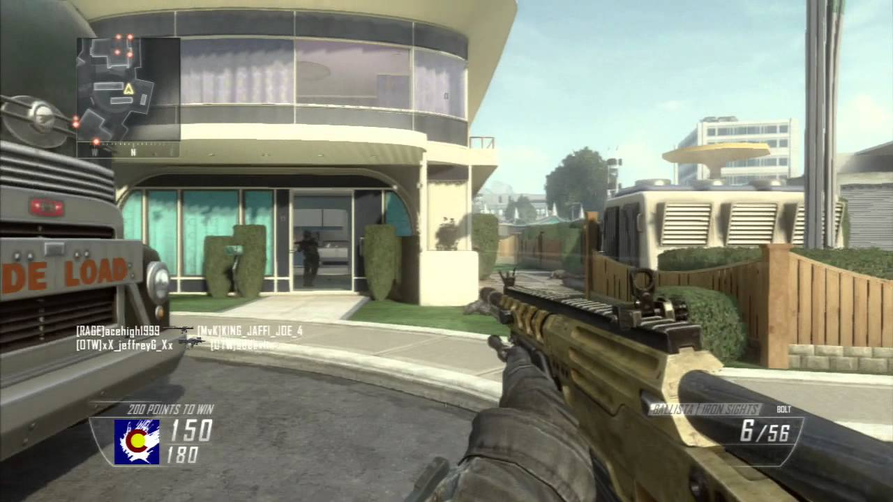Black Ops 2: Gun Game - Hijacked W/ Commentary - …