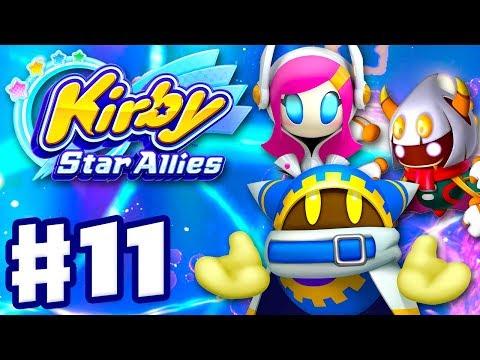 Kirby Star Allies - Gameplay Walkthrough Part 11 - Magalor, Taranza, and Susie!