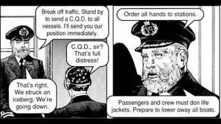 TITANIC; comic english