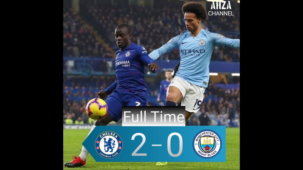 Chelsea Vs Manchester City 2018 All Goals & HighlightsPremier League 8/12/2018