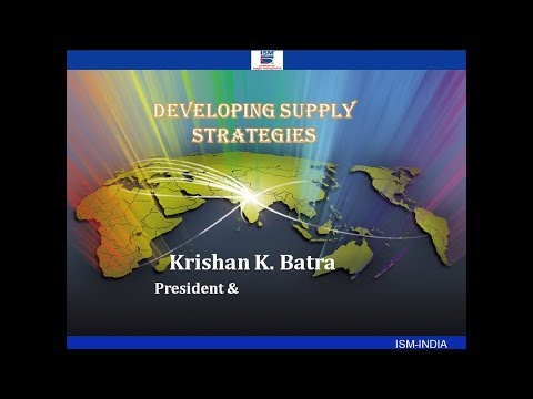 'Developing Supply Strategies'