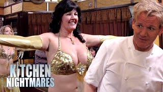 Belly Dancing Owner Stuns Gordon Ramsay   Kitchen Nightmares