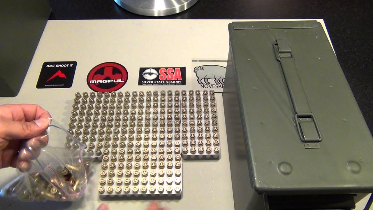 Long term ammo storage YouTube