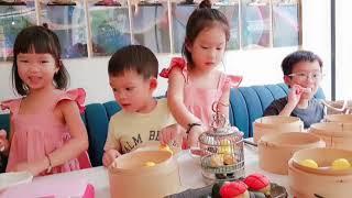 Sống ảo với các món Dimsum đẹp không tưởng cùng gia đình Lý Hải Minh Hà