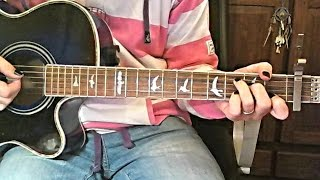 Nobody's Home Avril Lavigne - Acoustic Instrumental Cover(+TAB)