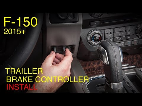Ford F-150 Oem Trailler Brake Controller Installation and Programming (2015+)