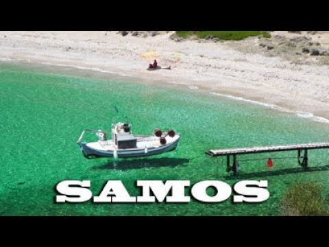 SAMOS - Greece - le spiagge più belle ( music by Thomas Bergersen )
