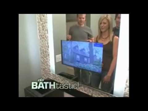 Bathroom TV | Bathtastic | DIY | Seura