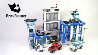 Lego City 60047 Police Station - Lego Speed Build