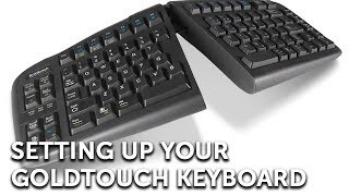 Setting up your Goldtouch Keyboard | Full Video(The Goldtouch V2 Adjustable Keyboard outfits your PC in comfort. Here at Goldtouch we understand that no two people are built exactly alike, so we designed a ..., 2011-09-13T17:36:22.000Z)