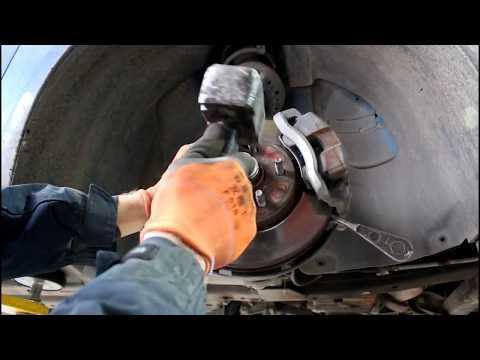 Замена сцепления 1часть Chevrolet Cruze 1,8 Шевроле Круз 2011 года