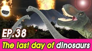 The last day of dinosaurs (Toro, Brachio, Ampelo, Stego, Carcharodontosaurus) collecta [cocostoy]