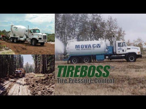 TIREBOSS™ Tire Pressure Control Technology Overview