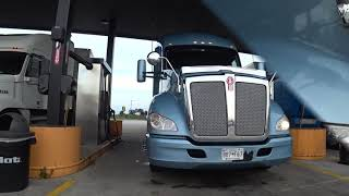 August 20, 2019/184 Trucking to Wisconsin and stopping for a truck wash