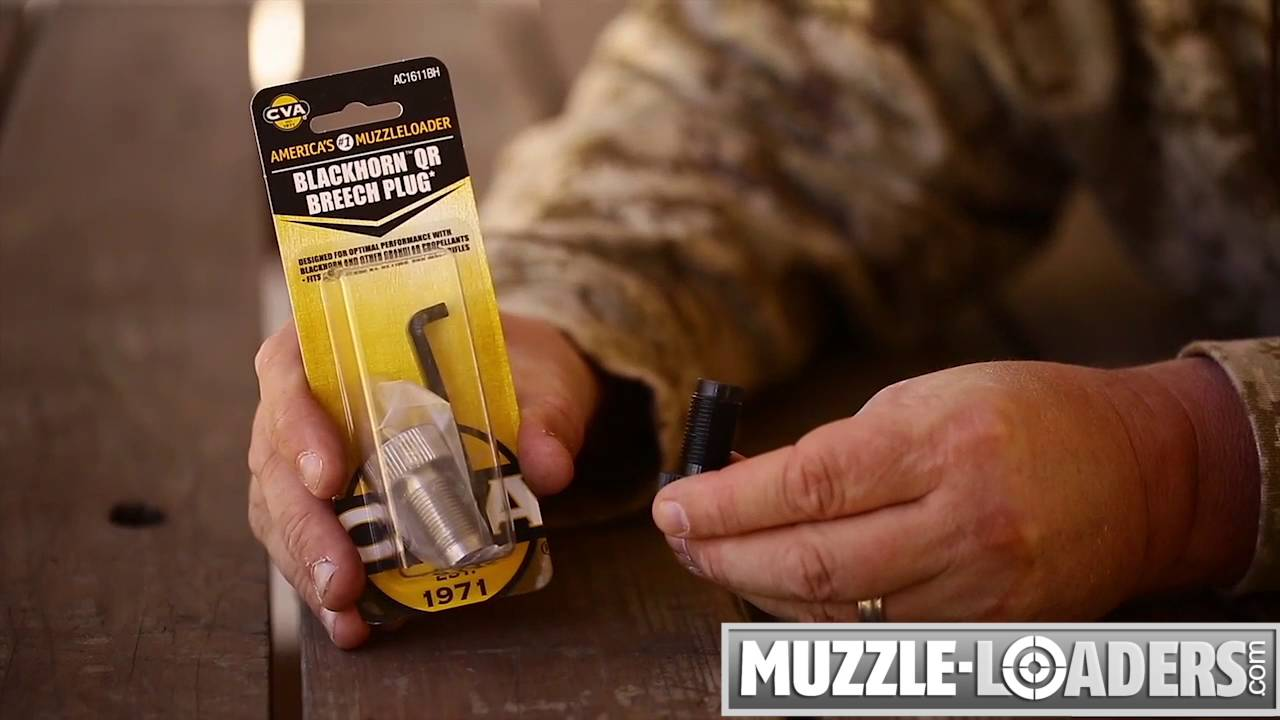 CVA™ Blackhorn 209 Breech Plug Review - Muzzle-Loaders com