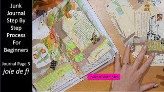 Junk Journal Step By Step Process For Beginners | Journal Page 3