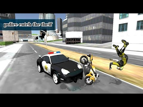 City Police Vs Motorbike Thief (by GP Games Studio) Android Gameplay [HD]