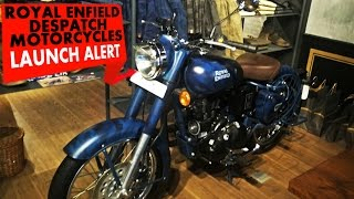 Royal Enfield Despatch Motorcycles | Launch Alert | PowerDrift