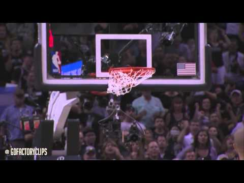 Tim Duncan, Tony Parker & Manu Ginobili Full Combined Highlights vs Heat 2014 Finals G5 - SICK