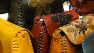 Oaxaca: Artesanía de Piel [Oaxaca: Leather Craft.]