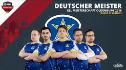 [DE] - LOL - ESL Wintermeisterschaft Finale 2018 Oldenburg