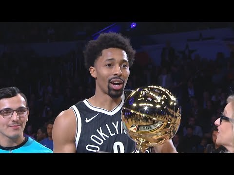 NBA All-Star Skills Challenge 2018! Spencer Dinwiddie Champion!