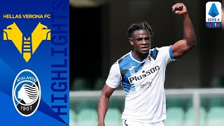 Hellas Verona 0-2 Atalanta | Malinovskiy & Zapata Fire Visitors To Victory! | Serie A TIM