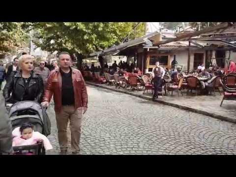 Prizren sokaklarında turladık.