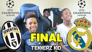 Juventus Vs Real Madrid Champions League Final | Tekkerz Kid