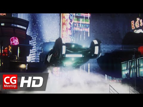 "CGI Sci-Fi Short Film HD: ""Tears In The Rain: A Blade Runner Short Film: by Christopher Grant Harvey"