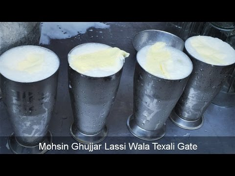 Mohsin Gujjar Lassi | Yogurt Beverage | Best Lassi in Town | Lahore Street Food II