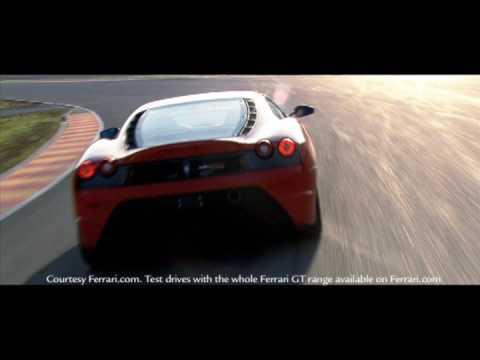 Michael Schumacher Test Drives the Ferrari F430 Scuderia at the Mugello Circuit in Italy