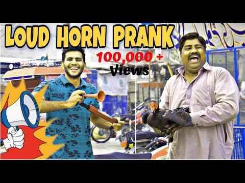 Loud Horn Prank BY UMAIR Chaudary ||  The Prank Engineer