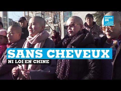 Chine : se raser la tête pour réclamer justice