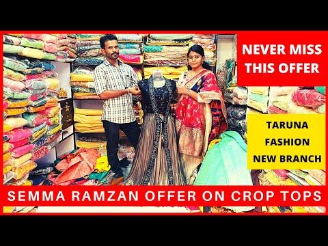 Semma Offer On Crop Tops | Taruna Fashion New Branch | Chennai | Just Know Fashion