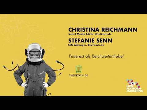 C. Reichmann, Social Media Editor, S. Senn SEO Manager Chefkoch.de   NPM17