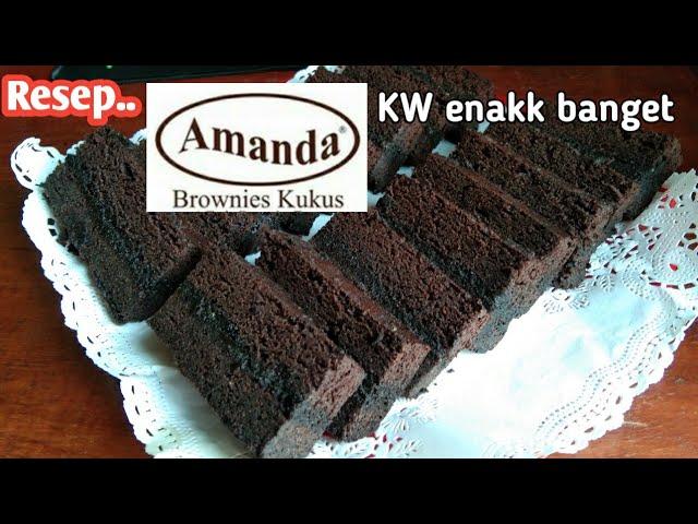 Resep Brownies Kukus Amanda Enak banget