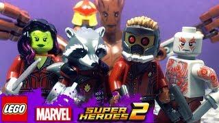 Лего Марвел Супергерои 2 СТРАЖИ ГАЛАКТИКИ 3 серия. Мультик игра новые серии 2018