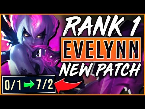HOW TO PLAY EVELYNN LIKE A CHALLENGER PLAYER - League of Legends