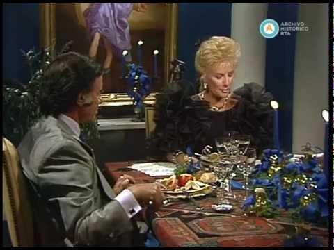 Menem almuerza con Mirtha Legrand, 1990 (parte I)