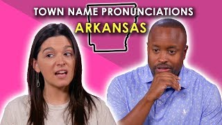 We Tried to Pronounce Arkansas Town Names